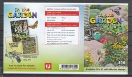 Australien 2019**, MH Im Garten, Diverse Sukkulenten / Australia 2019, MNH, Booklet In The Garden: Several Succulents - Sukkulenten