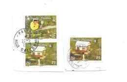 1007   Les Boites Aux Lettres   Variété De Couleur   Beaux Cachets Sur Fragments (pag7D) - Neukaledonien