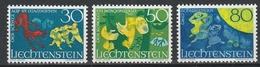 LIECHTENSTEIN  Xx  1968    MI 497-99  Postfrisch  -    Vedi  Foto ! - Liechtenstein