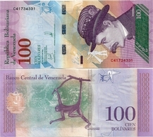 VENEZUELA       100 Bolívares       P-106[c]       18.5.2018       UNC - Venezuela