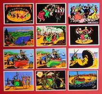 66 Lot De 18 Cartes Floquées CPSM  Roussillon Catalogne Nord Catalunya éditeurs Vanczak Publi-Flock Publimodern Moliner - Other Municipalities