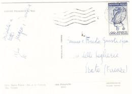 £15 OLIMPIADI SU CARTOLINA LIMONE PIEMONTE - Estate 1960: Roma