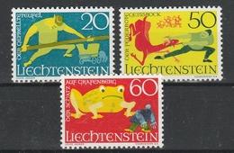 LIECHTENSTEIN  Xx  1969    MI 518-20  -  Postfrisch  -    Vedi  Foto ! - Liechtenstein