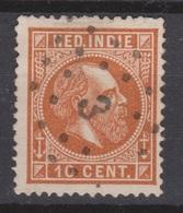 Nederlands Indie 9 TOP CANCEL SOERABAJA 3  ; Koning King Roy Rey Willem III 1870 Netherlands Indies PER PIECE - Niederländisch-Indien