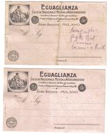 EGUAGLIANZA SOCIETA' NAZIONALE DI MUTUA ASSICURAZIONE MILANO  C.1545 - Italia