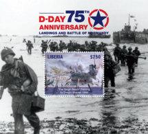 Liberia  2019  D-DAY , World War II   I201901 - Liberia