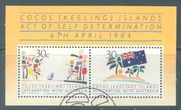 COCOS (KEELING) ISLANDS - 1984 - USED/OBLIT. INTEGRATION WITH AUSTRALIA  - Lot 20137 - Cocos (Keeling) Islands