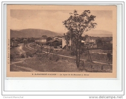 SAINT RAMBERT D'ALBON - La Ligne De Saint Rambert à Rives - Très Bon état - Autres Communes