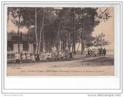 ARES - BASSIN D'ARCACHON - L'aérium Et Sa Terrasse Sur Le Bassin - Très Bon état - Francia