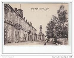 MONT SOUS VAUDREY - Maison Commune Et église - Très Bon état - France