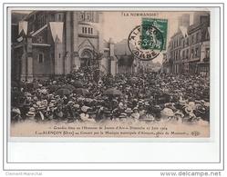 ALENÇON - Grandes Fêtes En L'honneur De Jeanne D'Arc - 27 Juin 1909 - Concert Par La Musique Municipale - Très Bon état - Alencon