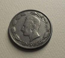 1964 - Equateur - Ecuador - 1 SUCRE - KM 78b - Equateur