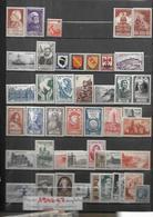 France Années Complètes        1946 Et 1947     Cat Yt  N°   748  à 792    N** MNH - 1940-1949