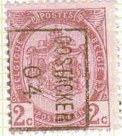 """COB N° 55 / OCVB N° 634     OOSTACKER """"04""""  B(zz) - Préoblitérés"""