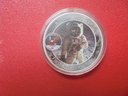 MISSION APOLLO 11-FIRST MAN ON THE MOON-MEDAILLE - USA