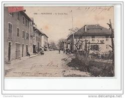 FRONTENEX - La Grande Rue - Très Bon état - Autres Communes