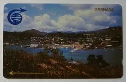 GRENADA - GRE-2B - GPT - 2CGRB - $10 - St Georges - Used - Grenade