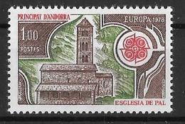 YT 269 ** - Europa 1978 - Andorre Français
