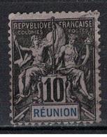REUNION                 N°     YVERT   36            OBLITERE       ( Ob  5/10 ) - Oblitérés
