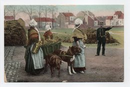 - CPA BELGIQUE - LAITIÈRES BELGES 1909 (belle Animation Avec Attelage De Chiens) - - Petits Métiers