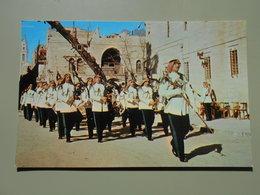 JORDANIE BETHLEHEM THE ROYAL ARAB ARMY BAND DURING CHRISTMAS FESTIVITIES - Jordanie