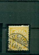 Schweiz, Kreuz über Wertschild, Nr. 56 C Gestempelt, Geprüft - Oblitérés