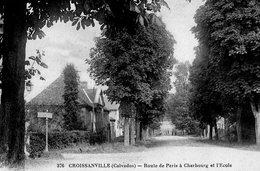 CROISSANVILLE ( 14 ) - Route De Paris - Frankrijk