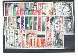 France Année Complète        1955    Cat Yt  N°  1008 à 1049   N** MNH - 1950-1959