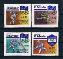El Salvador 1996 Olympia Mi.Nr. 2024/27 Kpl. Satz ** - El Salvador