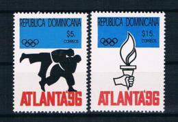Dominikanische Rep. 1996 Olympia Mi.Nr. 1795/96 Kpl. Satz ** - Dominikanische Rep.