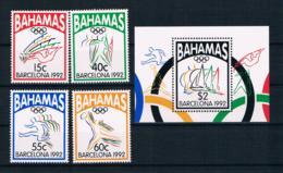 Bahamas 1992 Olympia Mi.Nr. 783/86 Kpl. Satz + Block 67 ** - Bahamas (1973-...)