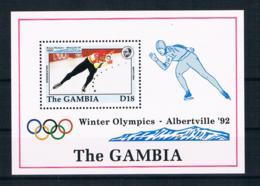 Gambia 1992 Olympia Block 158 ** - Gambia (1965-...)