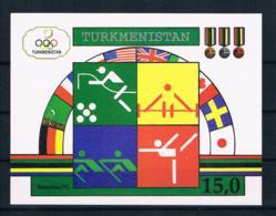 Turkmenistan 1992 Olympia Block 2 ** - Turkmenistan