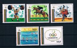 Turkmenistan 1992 Olympia Mi.Nr. 15/19 Kpl. Satz ** - Turkmenistan