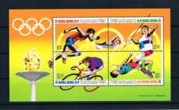 Hong Kong 1992 Olympia Block 21 ** - Hong Kong (...-1997)