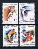 Indien 1992 Olympia Mi.Nr. 1356/59 Kpl. Satz ** - Indien