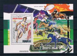 Mauretanien 1990 Olympia Block 72 - Mauretanien (1960-...)