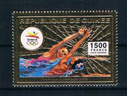 Guinea 1992 Olympia Mi.Nr. 1376A ** Gold - Guinea (1958-...)