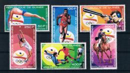 Guinea 1989 Olympia Mi.Nr. 1256/61 Kpl. Satz ** - Guinea (1958-...)