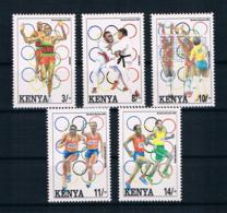 Kenya 1992 Olympia Mi.Nr. 560/64 Kpl. Satz ** - Kenia (1963-...)