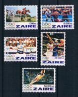 Zaire 1996 Olympia Mi.Nr. 1126/30 Kpl. Satz ** - Zaire