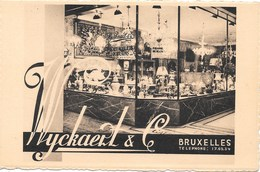 Bruxelles NA208: Wyckaert & Co, Rue Royale. Galerie D'Ameublement - Bruxelles-ville