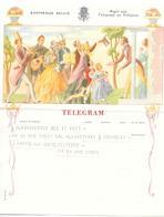 Telegram Van 1954 Naar Mechelen - Télégraphes