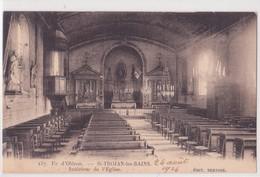 CPA - 137. Ile D Oléron St Trojan Les Bains - Intérieur De L'église - Ile D'Oléron