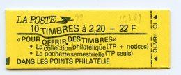 France, Yvert Carnet 2376-C6Ab**, Conf 6, Impression Ondulée, Fermé, état Parfait, MNH - Definitives