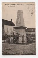 - CPA PAGNY-LE-CHATEAU (21) - Le Monument 1923 - Cliché Karrer - - France