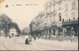 BELGIQUE NAMUR PLACE DE LA GARE - Namur