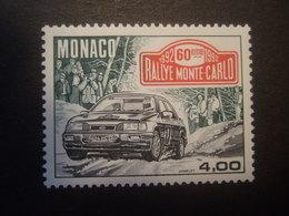 MONACO 1992 60. RALLEY MONTE CARLO. MNH ** (V6-TVN) - Cars