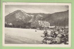 SEMMERING, Wintersportplatz : Grand Hôtel Erzherzog Johann.  2 Scans. Edition Graphische Industrie - Semmering