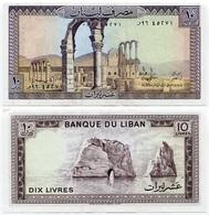 Lebanon - 10 Livres - 1989 - Liban